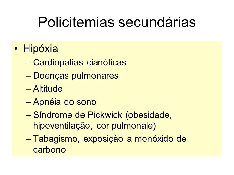Policitemias secundárias