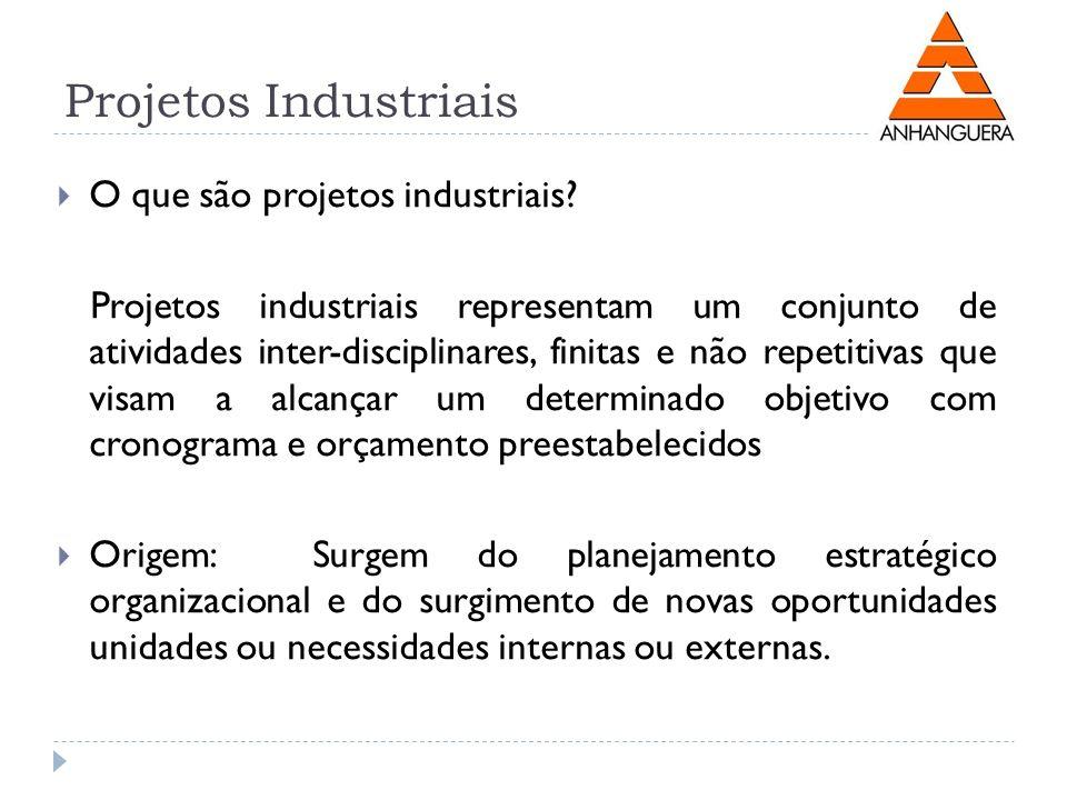 Projetos Industriais O que são projetos industriais