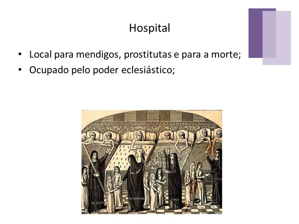 Hospital Local para mendigos, prostitutas e para a morte;