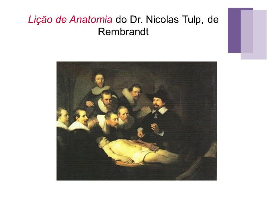 Lição de Anatomia do Dr. Nicolas Tulp, de Rembrandt