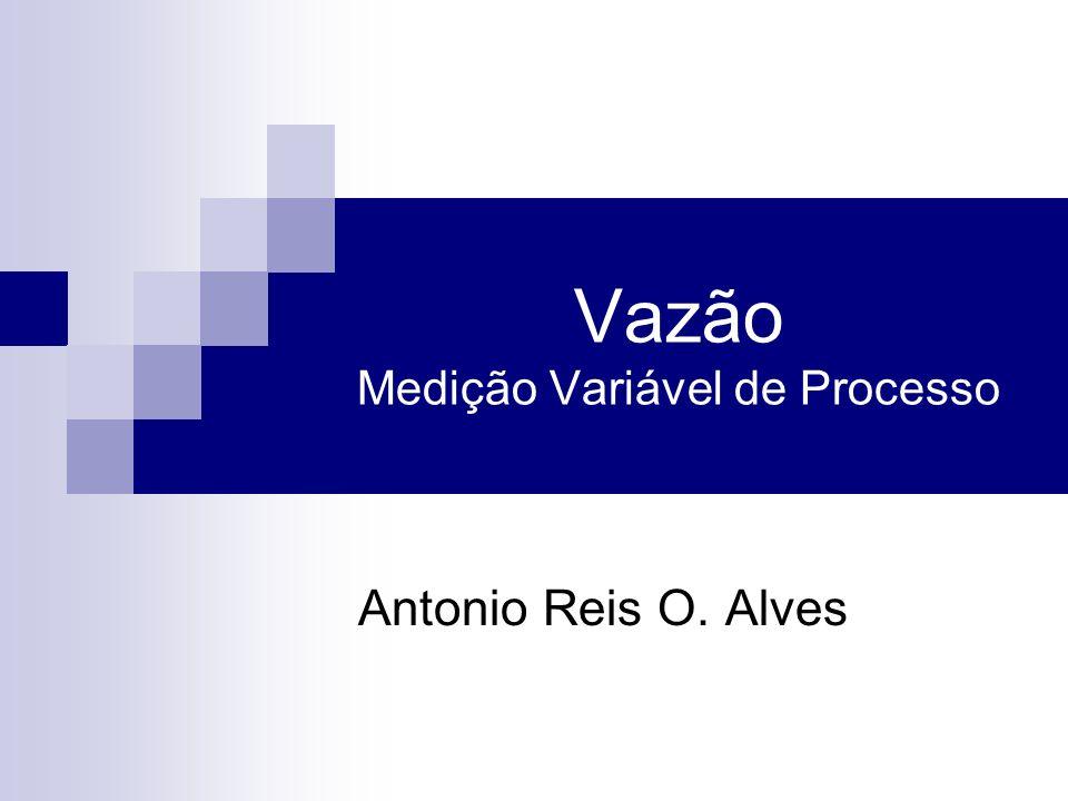Vazão Medição Variável de Processo