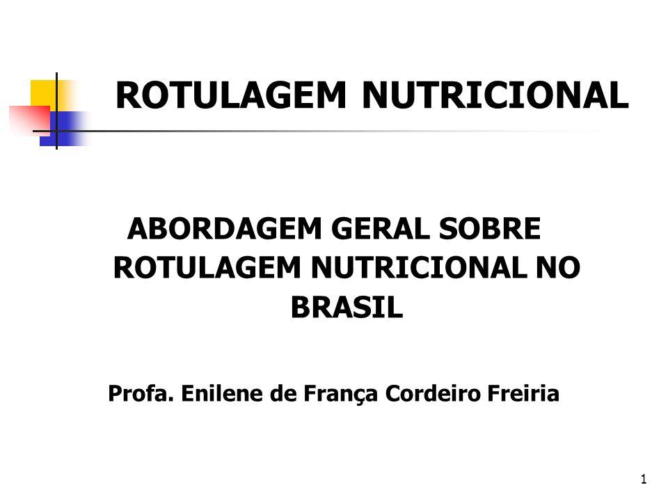 ROTULAGEM NUTRICIONAL