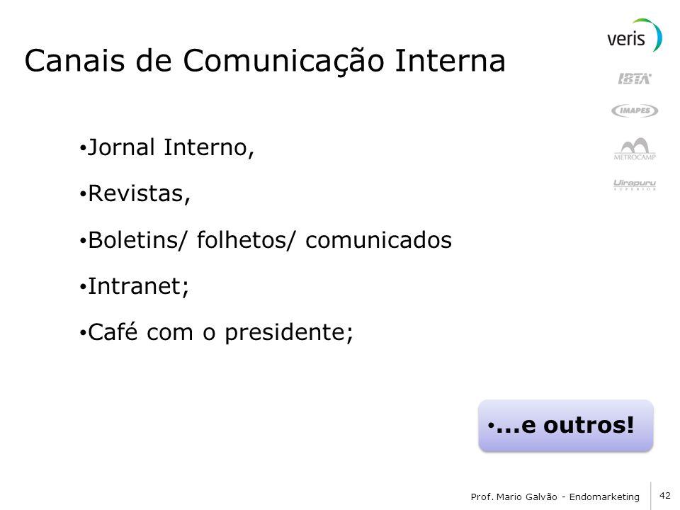 Canais de Comunicação Interna