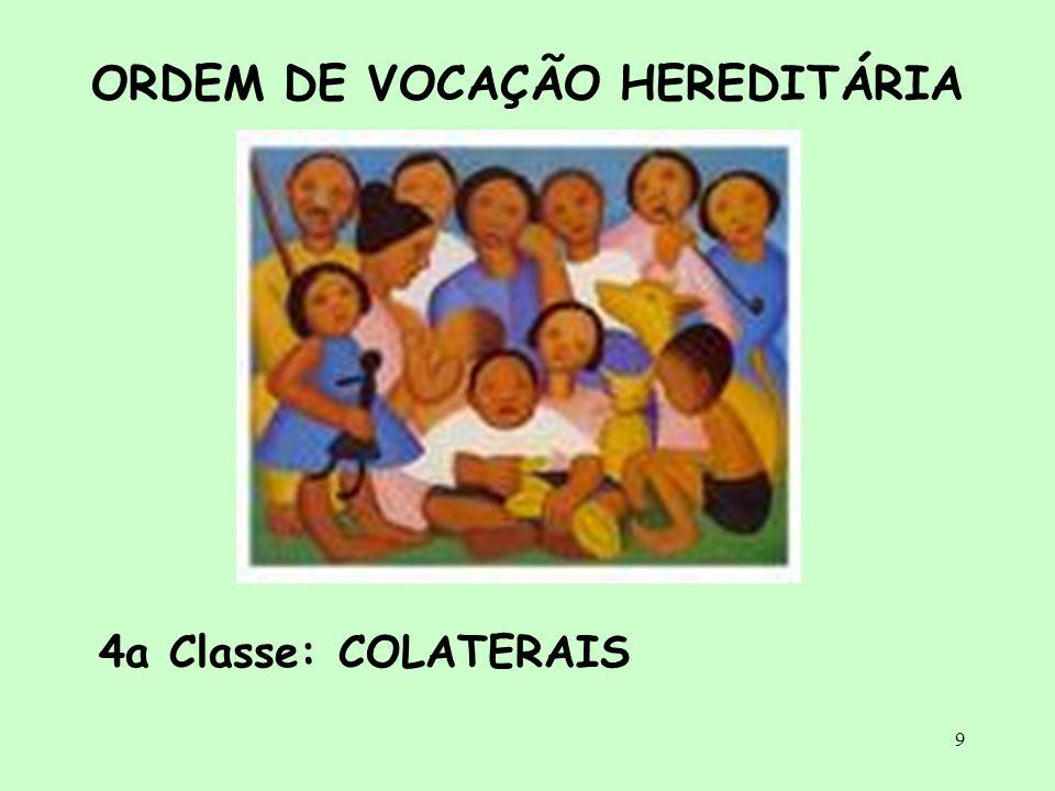 ORDEM DE VOCAÇÃO HEREDITÁRIA