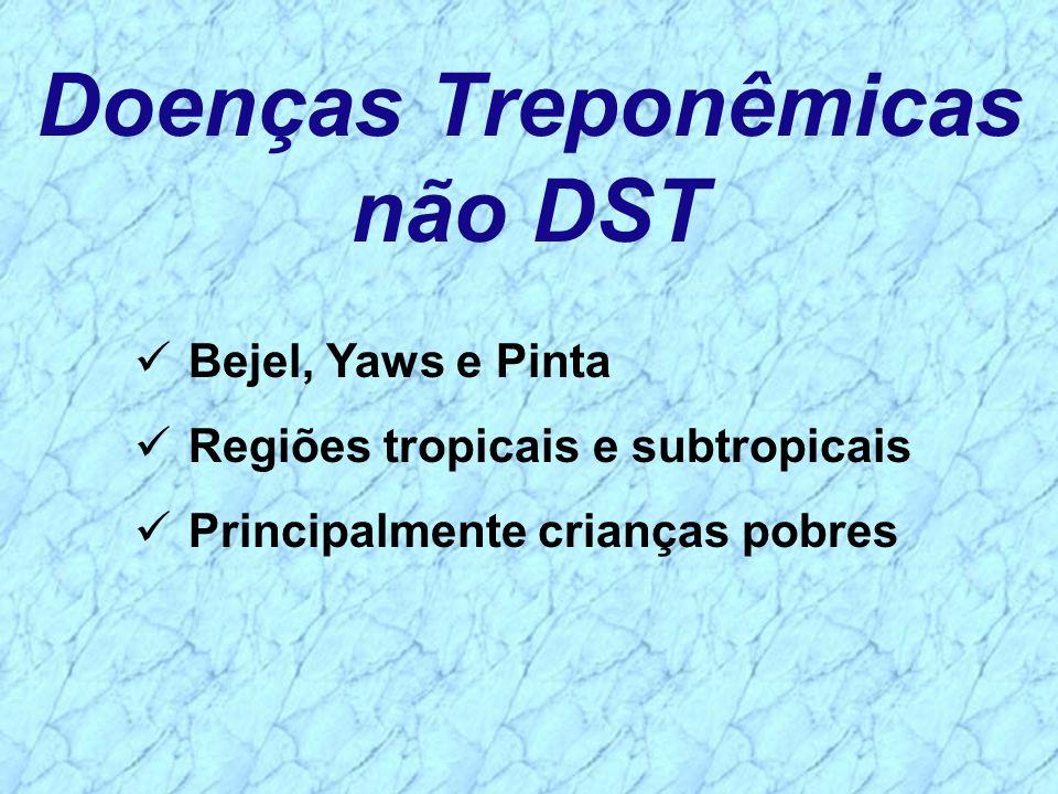 Doenças Treponêmicas não DST