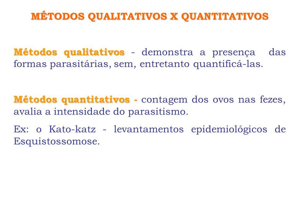 MÉTODOS QUALITATIVOS X QUANTITATIVOS