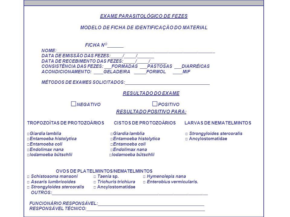 Exame parasitologico de fezes pdf
