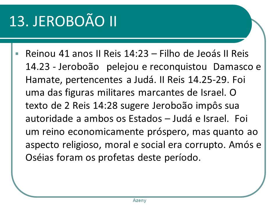 13. JEROBOÃO II
