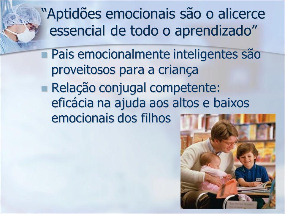 Aptidões emocionais são o alicerce essencial de todo o aprendizado