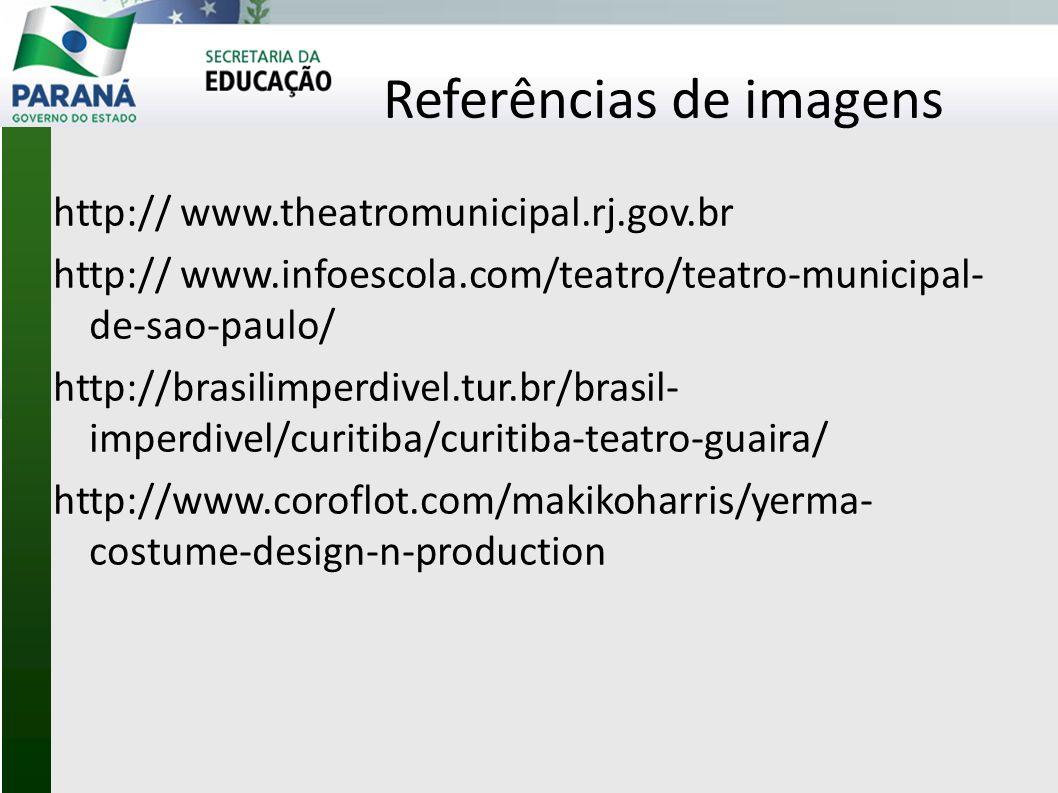 Referências de imagens