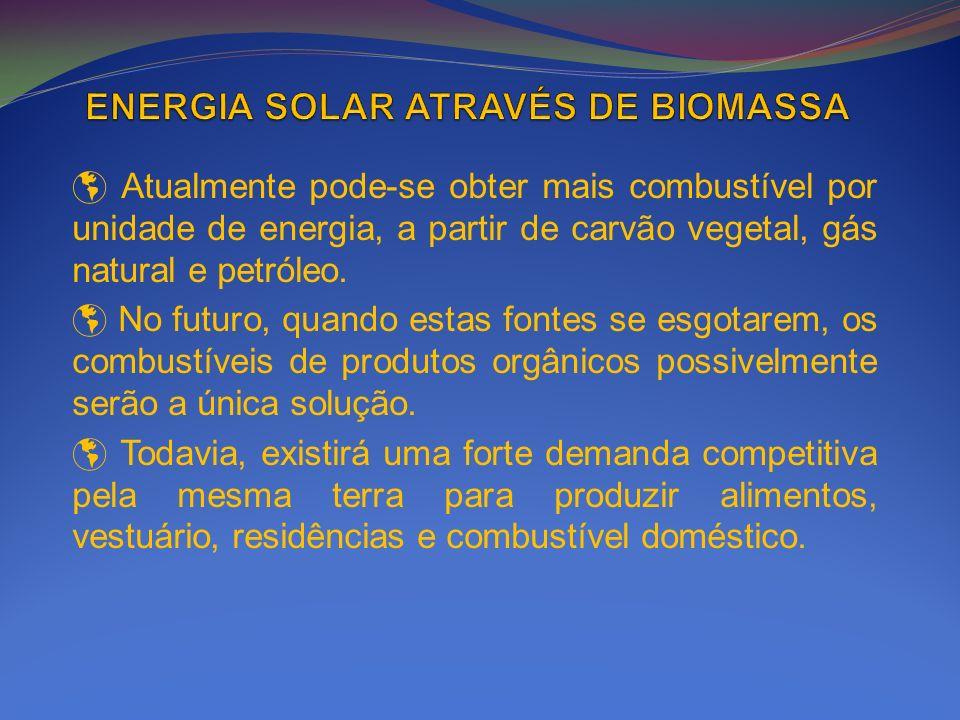 ENERGIA SOLAR ATRAVÉS DE BIOMASSA
