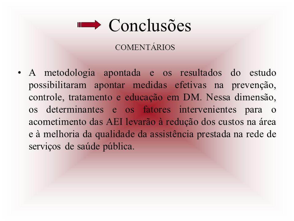 Conclusões COMENTÁRIOS.
