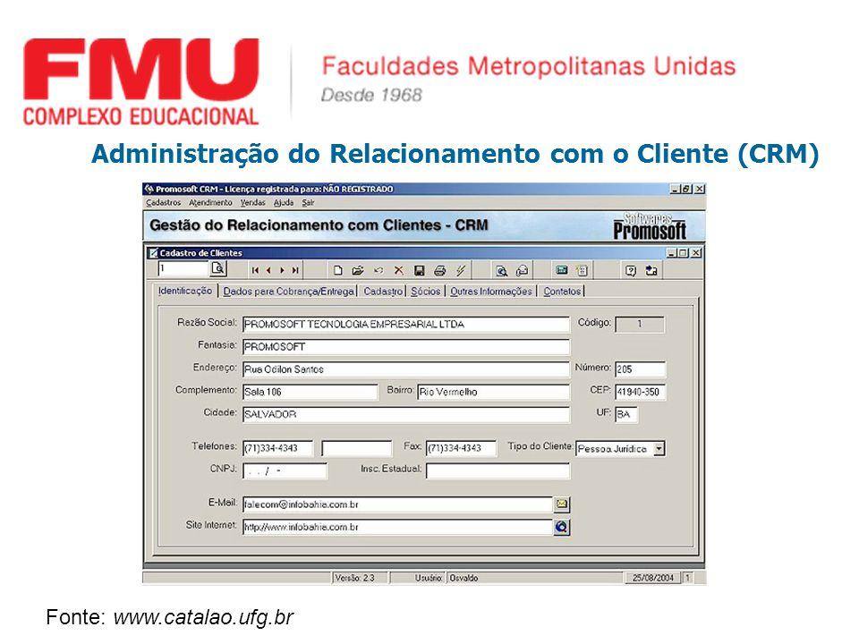 Administração do Relacionamento com o Cliente (CRM)