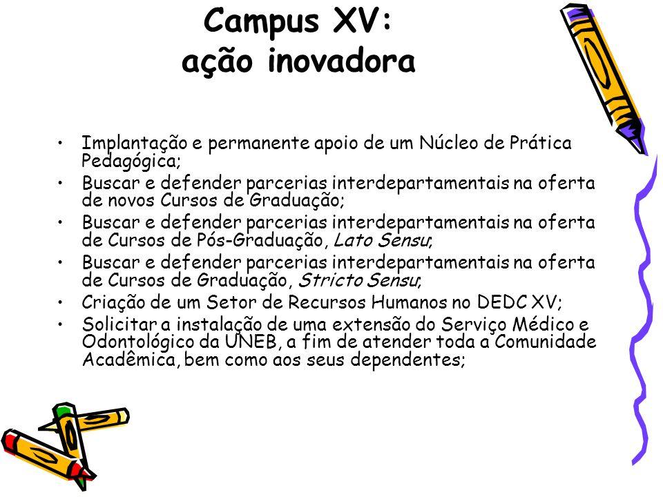 Campus XV: ação inovadora