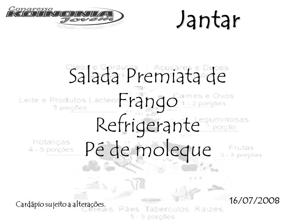 Salada Premiata de Frango