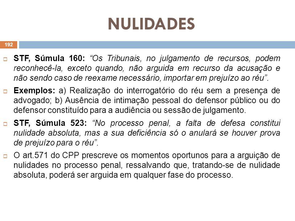 NULIDADES