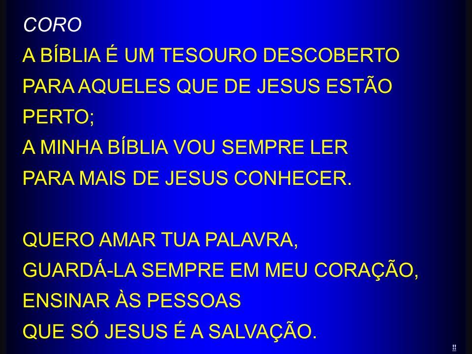 A BÍBLIA É UM TESOURO DESCOBERTO