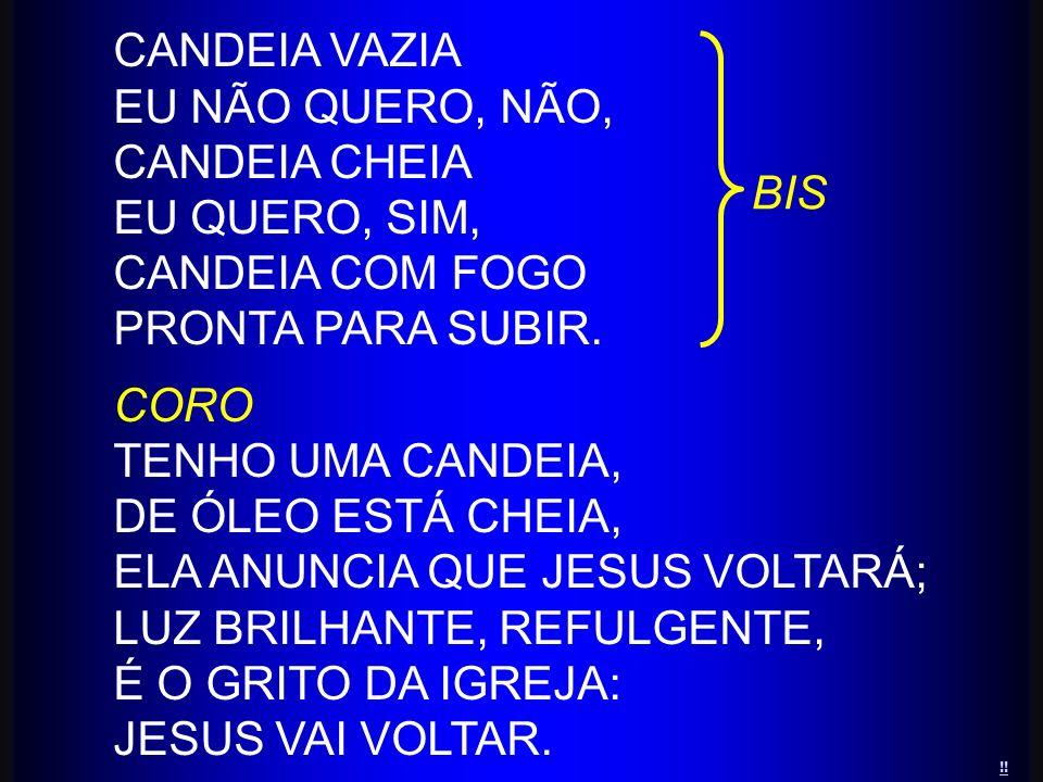 ELA ANUNCIA QUE JESUS VOLTARÁ; LUZ BRILHANTE, REFULGENTE,