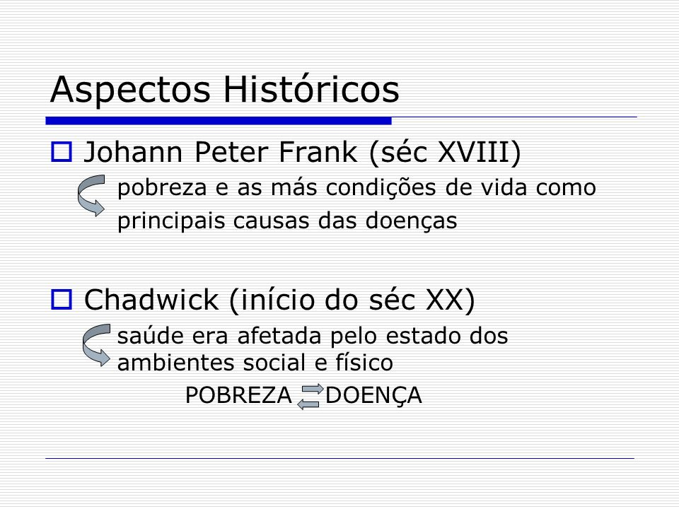 Aspectos Históricos Johann Peter Frank (séc XVIII)