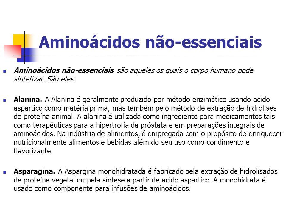 Aminoácidos não-essenciais