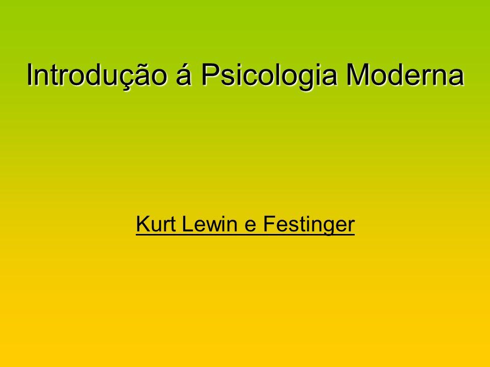 Introdução á Psicologia Moderna
