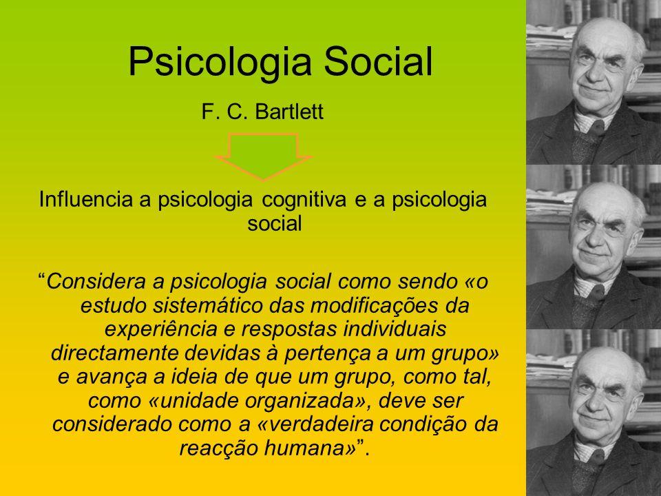 Influencia a psicologia cognitiva e a psicologia social