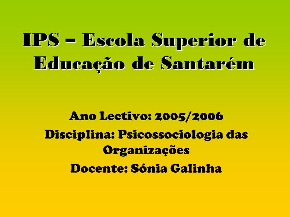 IPS – Escola Superior de Educação de Santarém