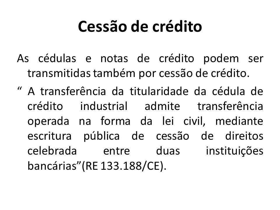 Cessão de crédito