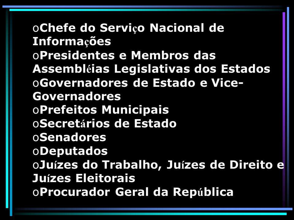 Chefe do Serviço Nacional de Informações