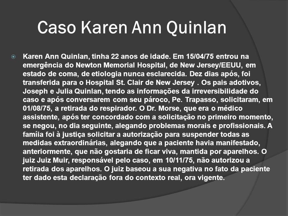 Caso Karen Ann Quinlan