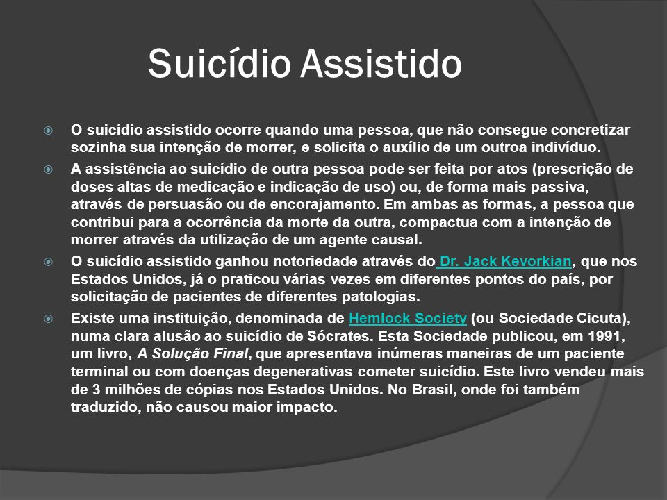 Suicídio Assistido