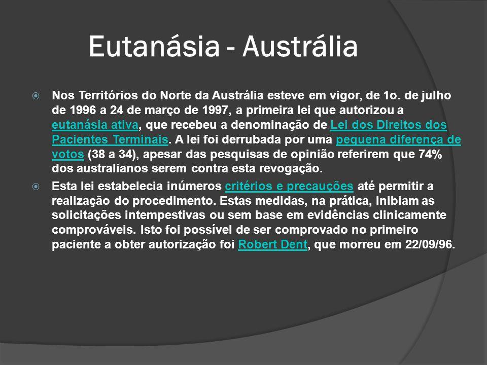 Eutanásia - Austrália