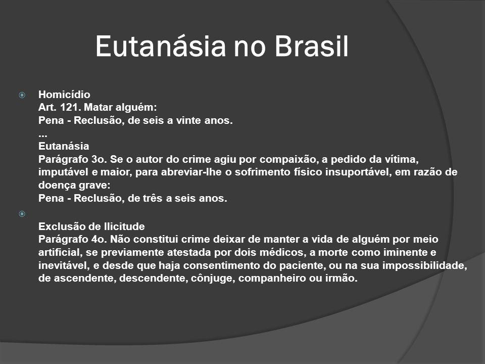 Eutanásia no Brasil