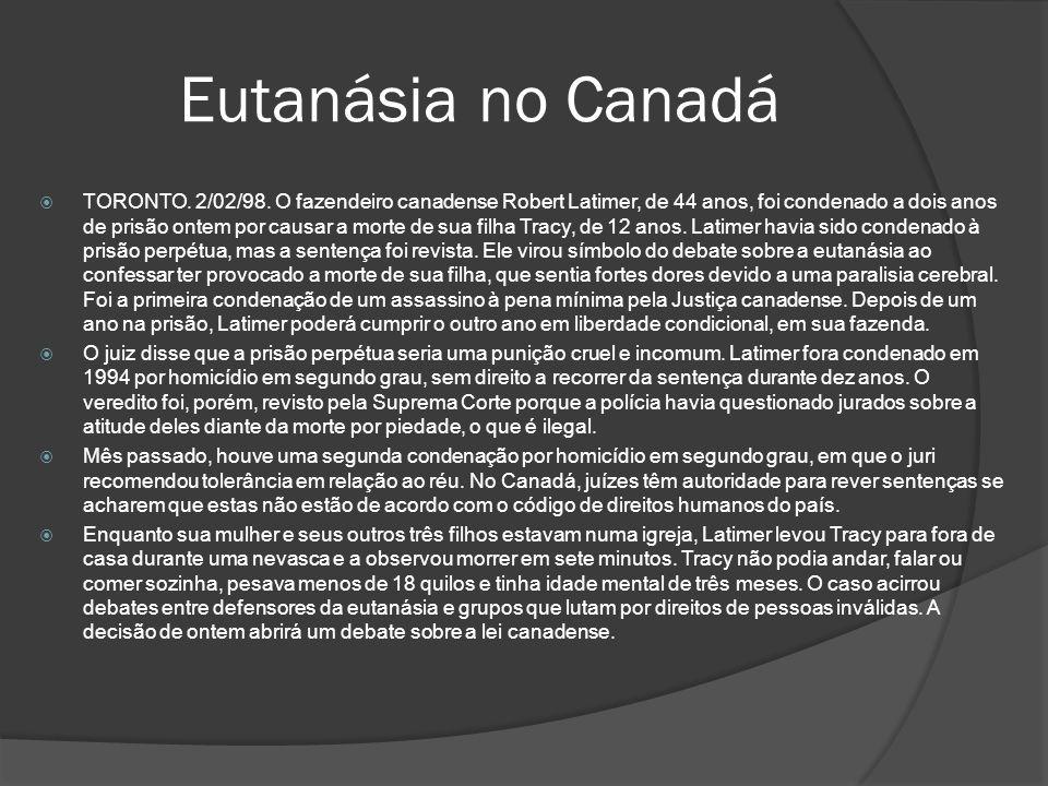 Eutanásia no Canadá