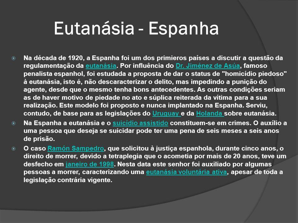 Eutanásia - Espanha