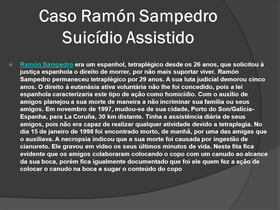Caso Ramón Sampedro Suicídio Assistido