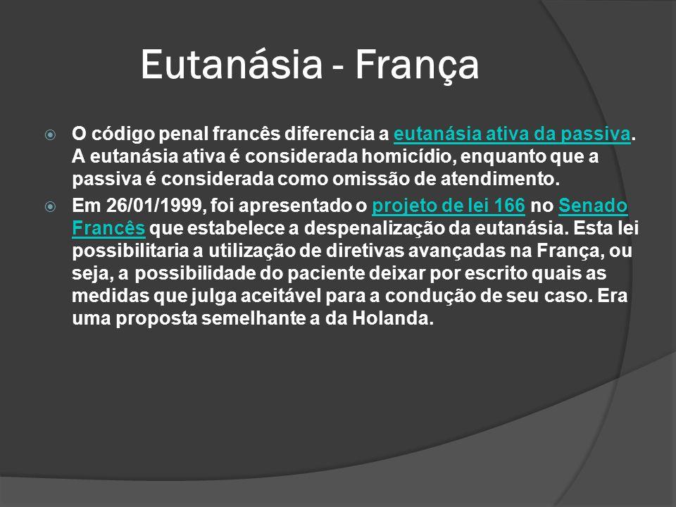 Eutanásia - França