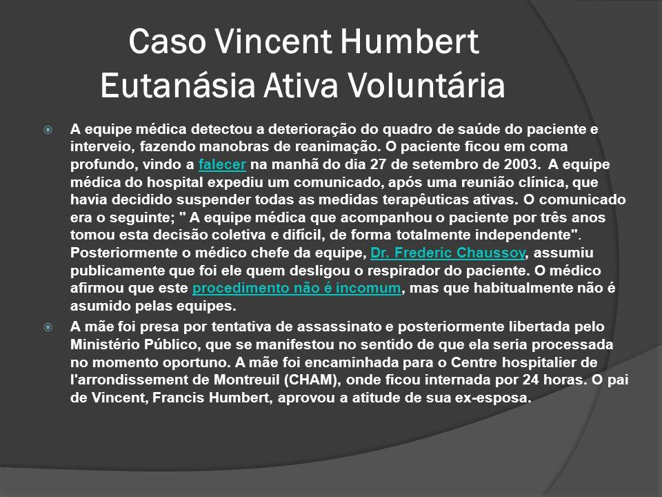 Caso Vincent Humbert Eutanásia Ativa Voluntária