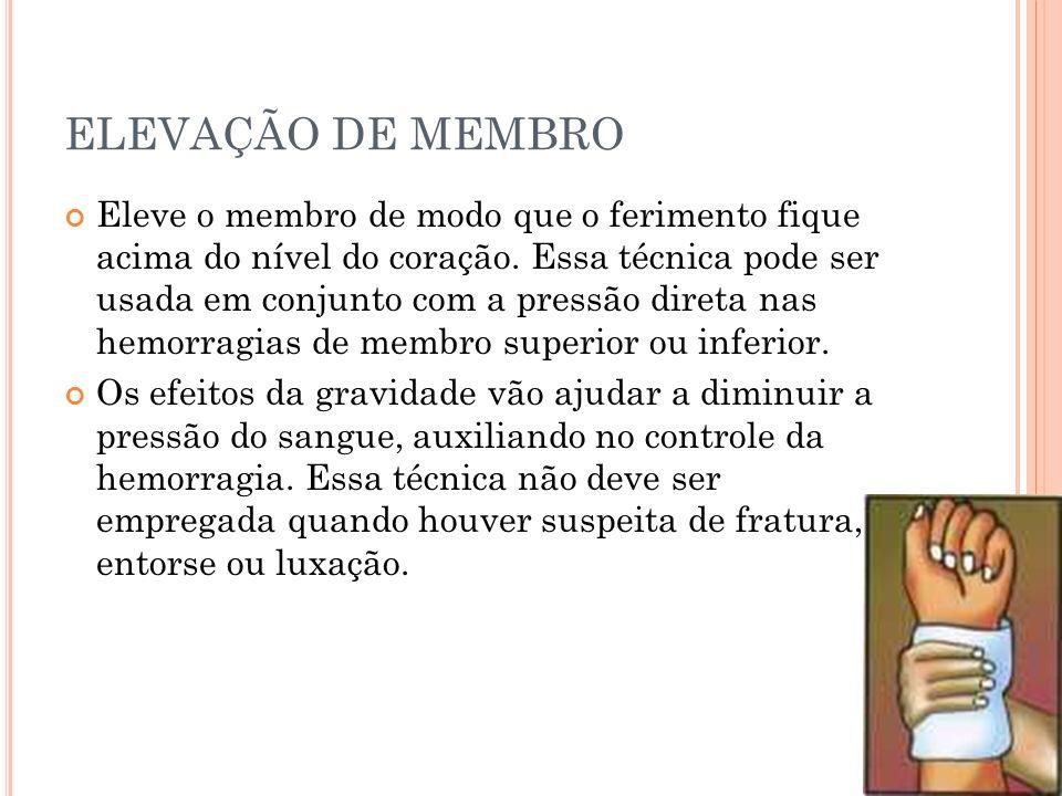 ELEVAÇÃO DE MEMBRO