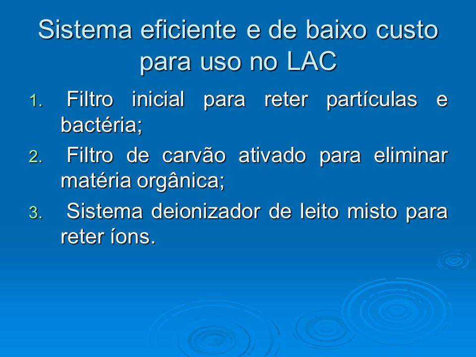 Sistema eficiente e de baixo custo para uso no LAC