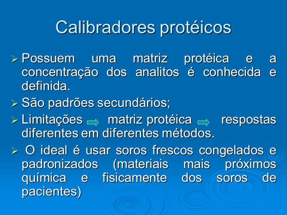 Calibradores protéicos