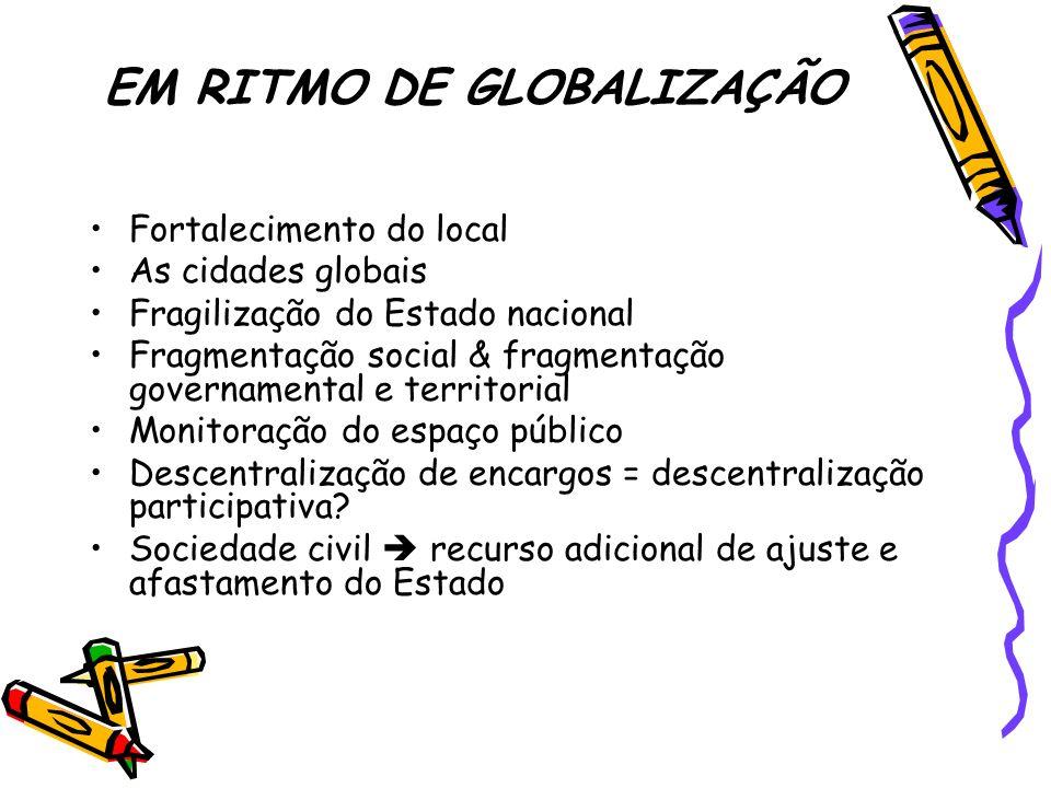 EM RITMO DE GLOBALIZAÇÃO