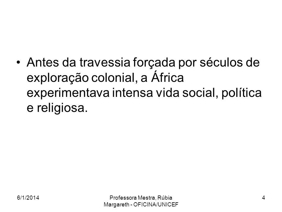 Professora Mestra, Rúbia Margareth - OFICINA/UNICEF