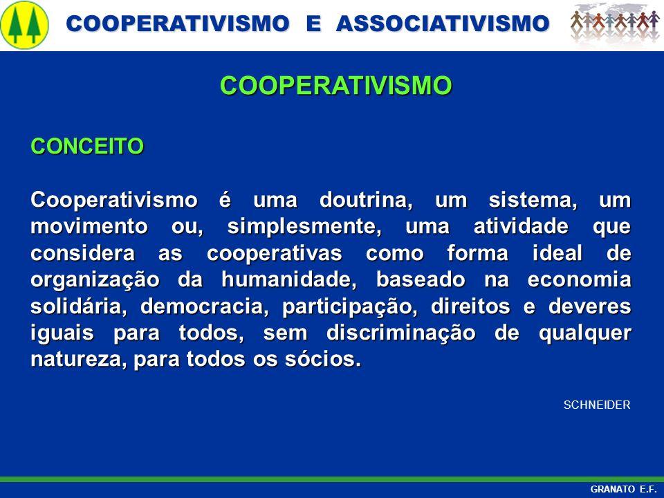 COOPERATIVISMO CONCEITO