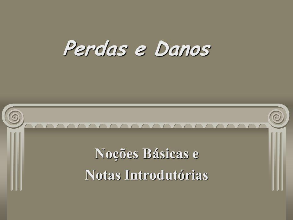 Noções Básicas e Notas Introdutórias