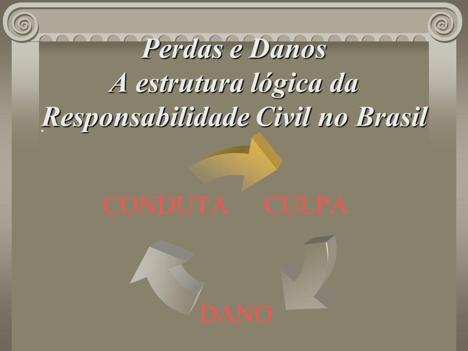 Perdas e Danos A estrutura lógica da Responsabilidade Civil no Brasil