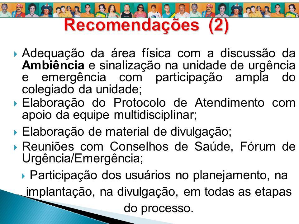 Recomendações (2)