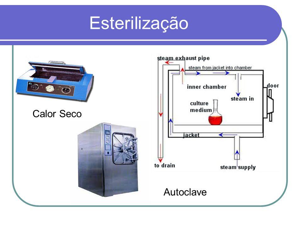 Esterilização Calor Seco Autoclave