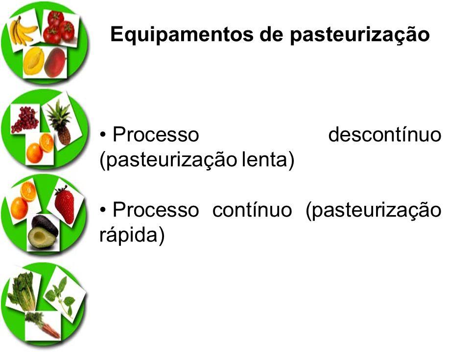 Equipamentos de pasteurização
