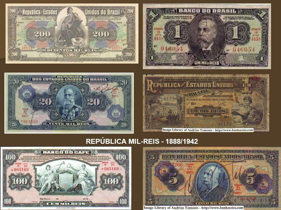 REPÚBLICA MIL-REIS - 1888/1942